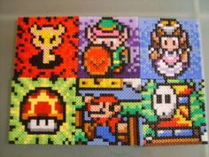 Nintendo perler beads by anyeshouse on deviantart