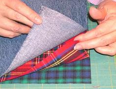 denimn rag quilt; this is the blog I used to cut the jeans.