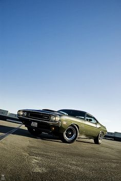 They can't control me! 1970 Dodge Challenger