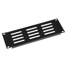 Gator GE-HRPNLVNT-2U Half Rack Standard Width 2U vented panel
