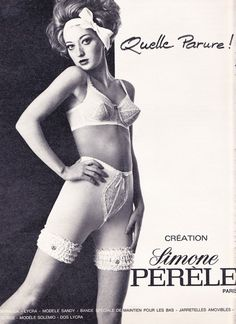 1920174432 Our Simone Perele collection is a little more contemporary Vintage Girdle
