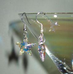Crystal star earrings bridesmaids gifts?