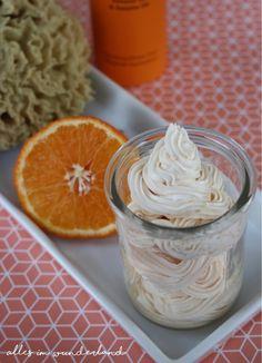 """""""Duftes"""" Rezept für ein Körper-Mousse mit Orangenöl"""