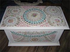 Mosaic chest