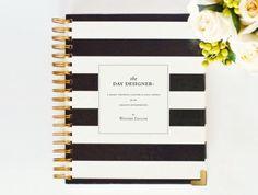 May 2014  May 2015 DAY DESIGNER PreOrder  Black by whitneyenglish, $60.00
