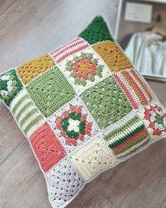 Almofadas Tradicionais De Crochê!
