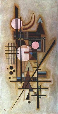 The Russian painter and graphic artist Wassily Kandinsky was one of the great masters of modern art, as well as the outst. Kandinsky Art, Wassily Kandinsky Paintings, Art Graphique, Henri Matisse, Art Plastique, Art And Architecture, Art History, Painting & Drawing, Abstract Art