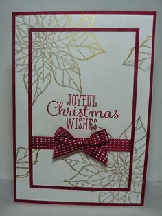 A Fanatical Stamper: Double time stamping, Joyful Christmas