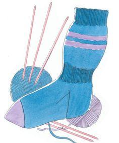 Dagens tip! Få de hjemmestrikkede strømper til at sidde godt - Hendes Verden