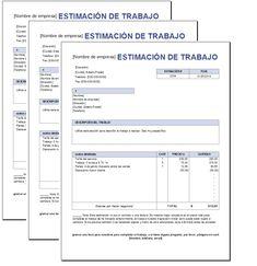 11 Ideas De Plantillas De Presupuesto Plantillas De Presupuesto Presupuesto Documento De Word