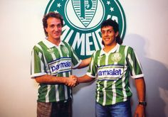 De volta à casa: assista aos sete gols de Cuca como jogador do Palmeiras #globoesporte