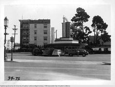 Wilshire And Hoover Drive In by Hollywood-Graham, via Flickr