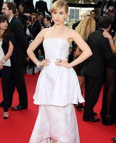 Suki Waterhouse in Dior | blog.theknot.com