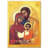 Holy Family Icon - Christmas Card