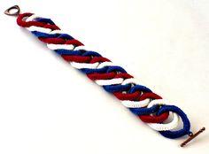 Irish Crochet Bracelet Fiber Bracelet