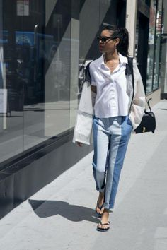 White noise and white-hot styles from the Hilfiger Collection styled by singer Aluna Francis from Aluna George.
