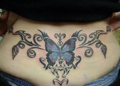 Low Back Tattoo - 60  Low Back Tattoos for women  <3 <3