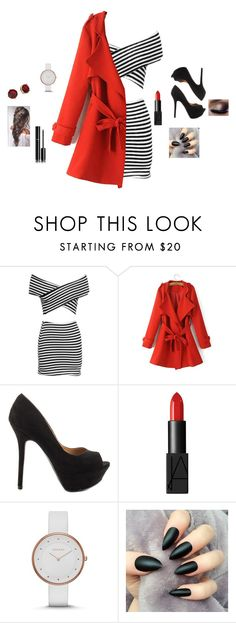 """Pop❣"" by emmii17 ❤ liked on Polyvore featuring Qupid, NARS Cosmetics, Skagen, Chanel and Lauren Ralph Lauren"