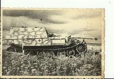 Ferdinand nr. 463 knocked out and abandoned during the Battle of Kursk