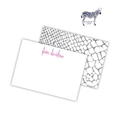 "looking for the perfect ""just because"" or ""happy new job"" gift? look no further! our mini flat notes set is the perfect present. isn't this snakeskin design just so chic?"