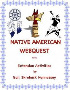 Overview of different Native American tribes,famous Native Americans in history, and contributions of Native Americans in arts, government, language and more!The Trail of Tears, shelters, contributions(i.e: hockey, lacrosse, ideas in government, words in English), Sacagawea, Sequoyah, Jim Thorpe, Sitting Bull, Squanto, Native American Heritage Month, the importance of the buffalo, and more.Great for activity with unit on Native Americans or for November's Native American Heritage Month.