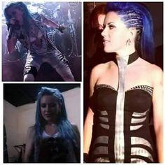 Alissa White, Arch Enemy, Metal Girl, Rock Stars, Music Stuff, Most Beautiful Women, Heavy Metal, Wonder Woman, Queen