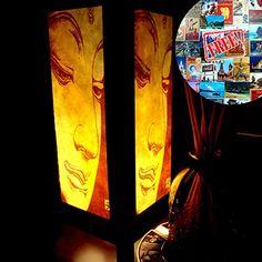 Buddha Table Lamp Lighting Shades Floor Desk Outdoor Touch Room Bedroom Modern Vintage Handmade Asian Oriental Wood LED Bedside Gift Art Home Garden Christmas