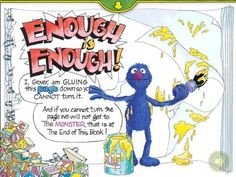 monster at the end of this book - Google Search