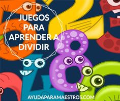 AYUDA PARA MAESTROS: Juegos para aprender a dividir Teaching Tips, Teaching Math, Montessori Activities, Activities For Kids, Math 4 Kids, Cooperative Learning, Math Resources, Math Games, Mathematics