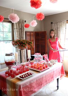 Pink & Coral party