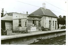Railway station - Campbelltown c.1968 | Flickr - Photo Sharing!