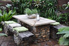 15 полезных идей использования камней в оформлении дачного участка - Полезно Знать