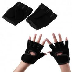 6. Heavy-Lift Wrist-Wrap Weight-Lifting Exercise Gloves