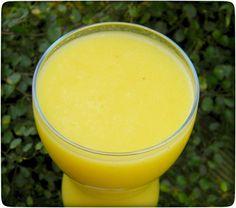 Mango-Ingwer-Birnen Smoothie