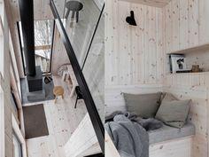 Interior Architecture, Interior Design, Cottage, House Design, Cabins, Minimalism, Modern, Architecture Interior Design, Nest Design