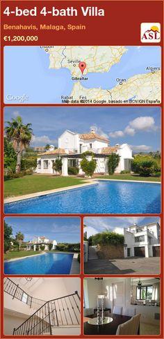 4-bed 4-bath Villa in Benahavis, Malaga, Spain ►€1,200,000 #PropertyForSaleInSpain