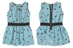 Little Marc Jacobs spring summer 2015, mini-me sleeveless light blue dress