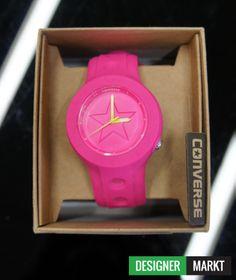 #Converse sportliche Damen Uhr