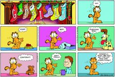 Garfield & Friends | The Garfield Daily Comic Strip for December 19th, 2004
