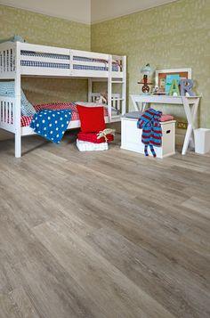 Boathouse Oak Camaro luxury vinyl tile flooring, featured in kids bedroom