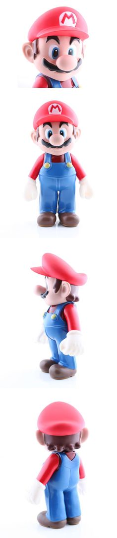 "8.5"" Super Mario Figure  http://www.usbgeek.com/products/8-5-super-mario-figure"