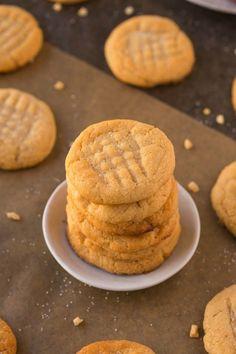 3-ingredient-sugafree-flourless-peanutbutter-cooki