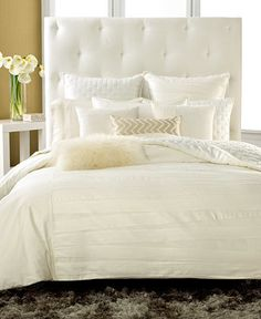 INC International Concepts CLOSEOUT! Incline Ivory Twin Duvet Cover on shopstyle.com