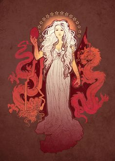 A Song of Ice and Fire - Daenerys Targaryen (by Megan Lara)