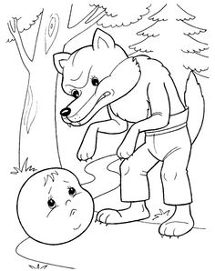 Kolobok Cool Coloring Pages, Coloring Pages For Kids, Preschool Worksheets, Drawing For Kids, Paper Dolls, Mittens, Cool Kids, Fairy Tales, Kids Rugs