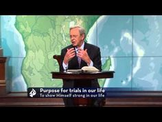God has the power to prevent suffering and calamity--so why does He allow it? Charles Stanley offers a biblical answer to this question. In Touch Ministr. Charles Stanley, Andy Stanley, Love Joy Peace, Waiting On God, Christian Love, Christian Videos, Christian Faith, Answer To Life, Gods Timing