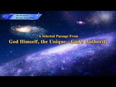God's Utterance God Himself, the Unique I God's Authority (I) (Excerpt, Stage Version) Word Creator, Rules And Laws, The Descent, Living Water, E-mail Marketing, Recital, Jehovah, In The Flesh, Word Of God