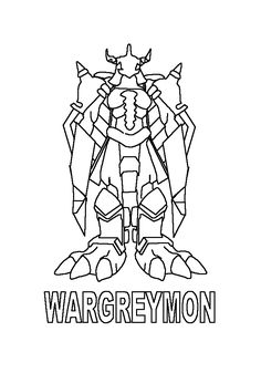 new digimon coloring pages - photo#40