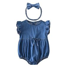Ding-dong Baby Girl Summer Cotton Denim Romper Bodysuit+H... https://www.amazon.com/dp/B071Z6P5P4/ref=cm_sw_r_pi_dp_x_gRsxzbBN2KDTQ