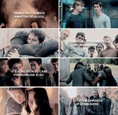 They are a family and even thought some of them do not survive, they'll always be a family